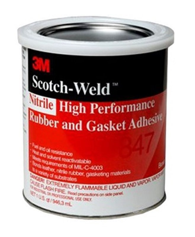3M Scotch-Weld 847 Kontaktní lepidlo, 1L | hanak-trade.cz